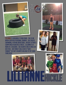 trainer-lillianne NASM certified personal trainer